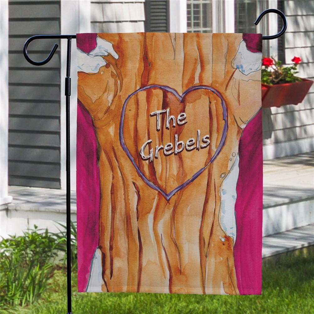 Personalized Family Tree Garden Flag