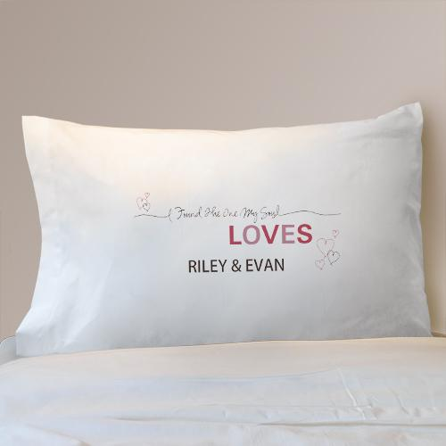 Personalized Soul Mate Pillowcase