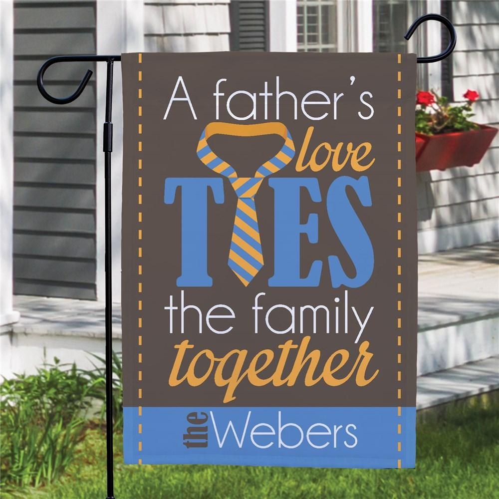 Personalized Father's Day Garden Flag