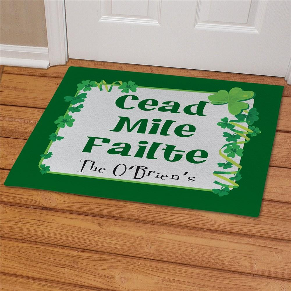 Personalized Irish House Blessing Doormat