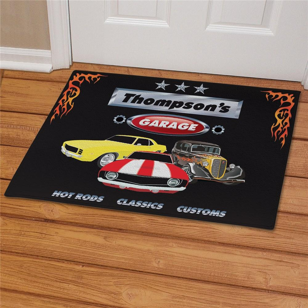 Personalized My Garage Doormat