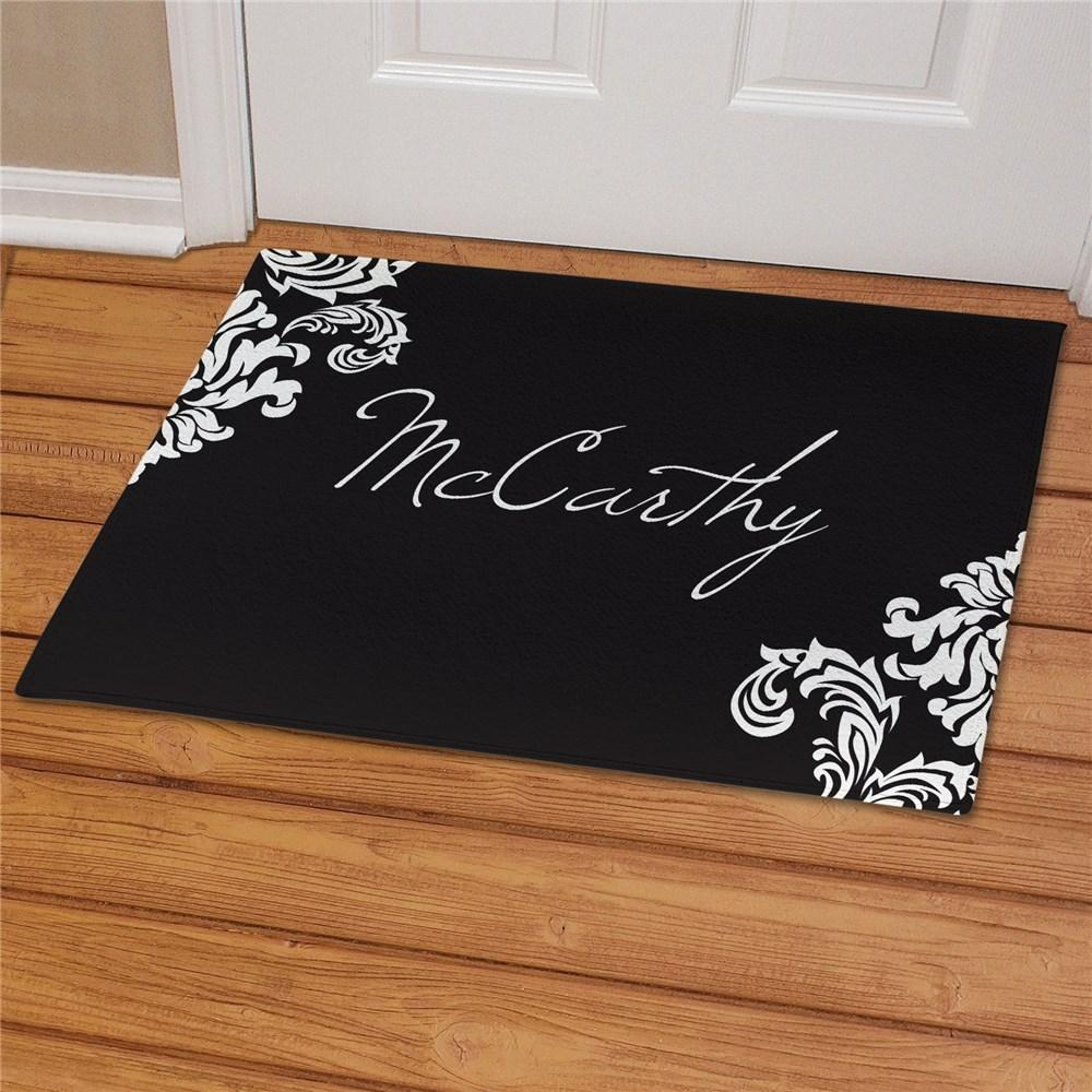 Personalized Printed Family Welcome Doormat