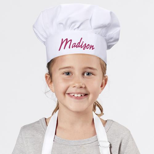 Personalized Youth Chef Hat