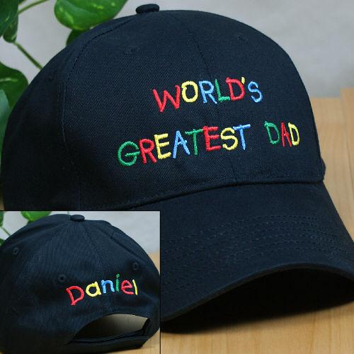 Personalized Greatest Dad Hat