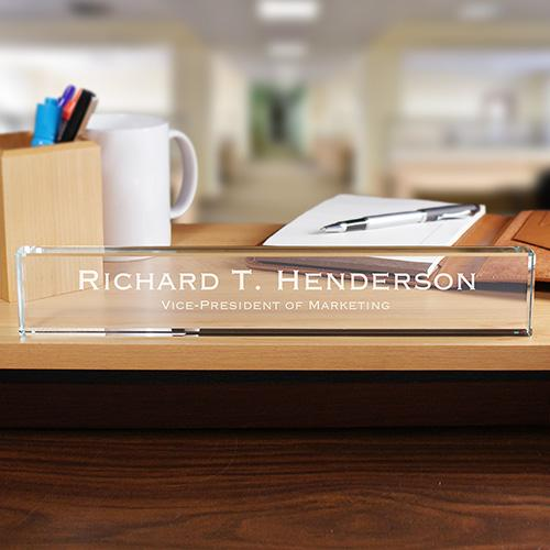 Personalized Executive Name Plate