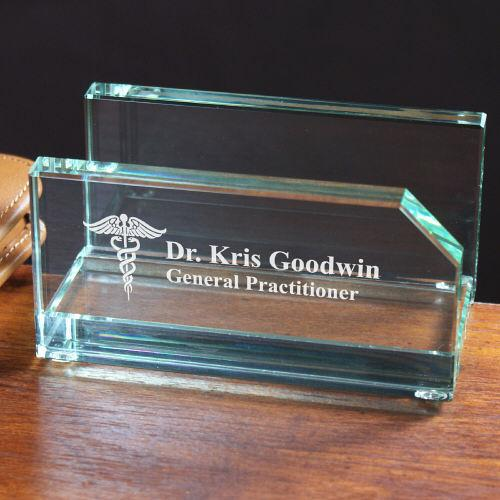 Personalized Doctor Business Card Holder