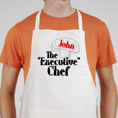 Personalized Executive Chef Apron