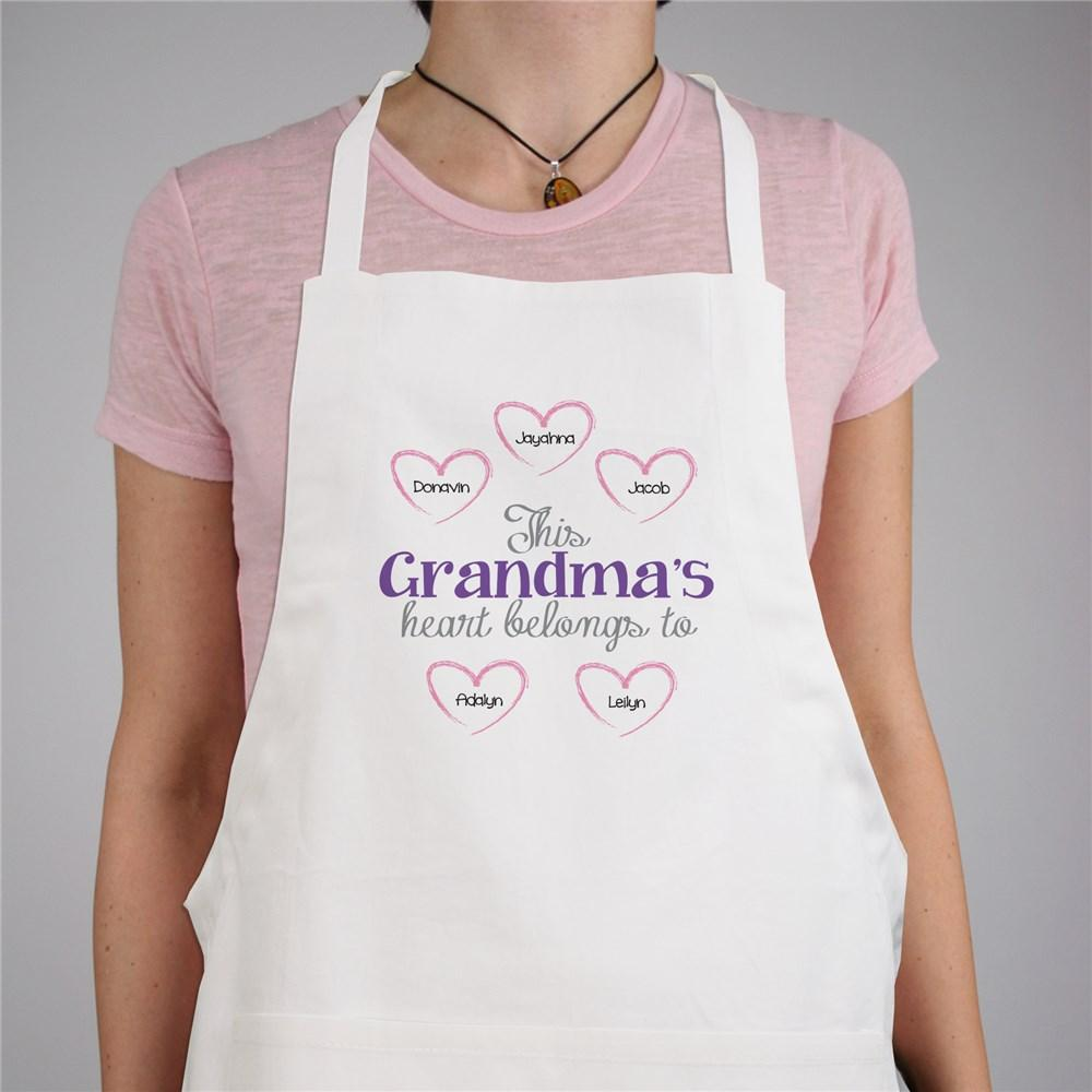 Personalized Heart Apron