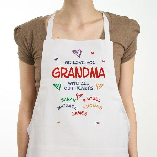 Personalized All Our Hearts Apron