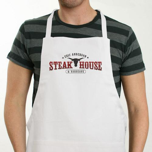 Personalized steakhouse Apron