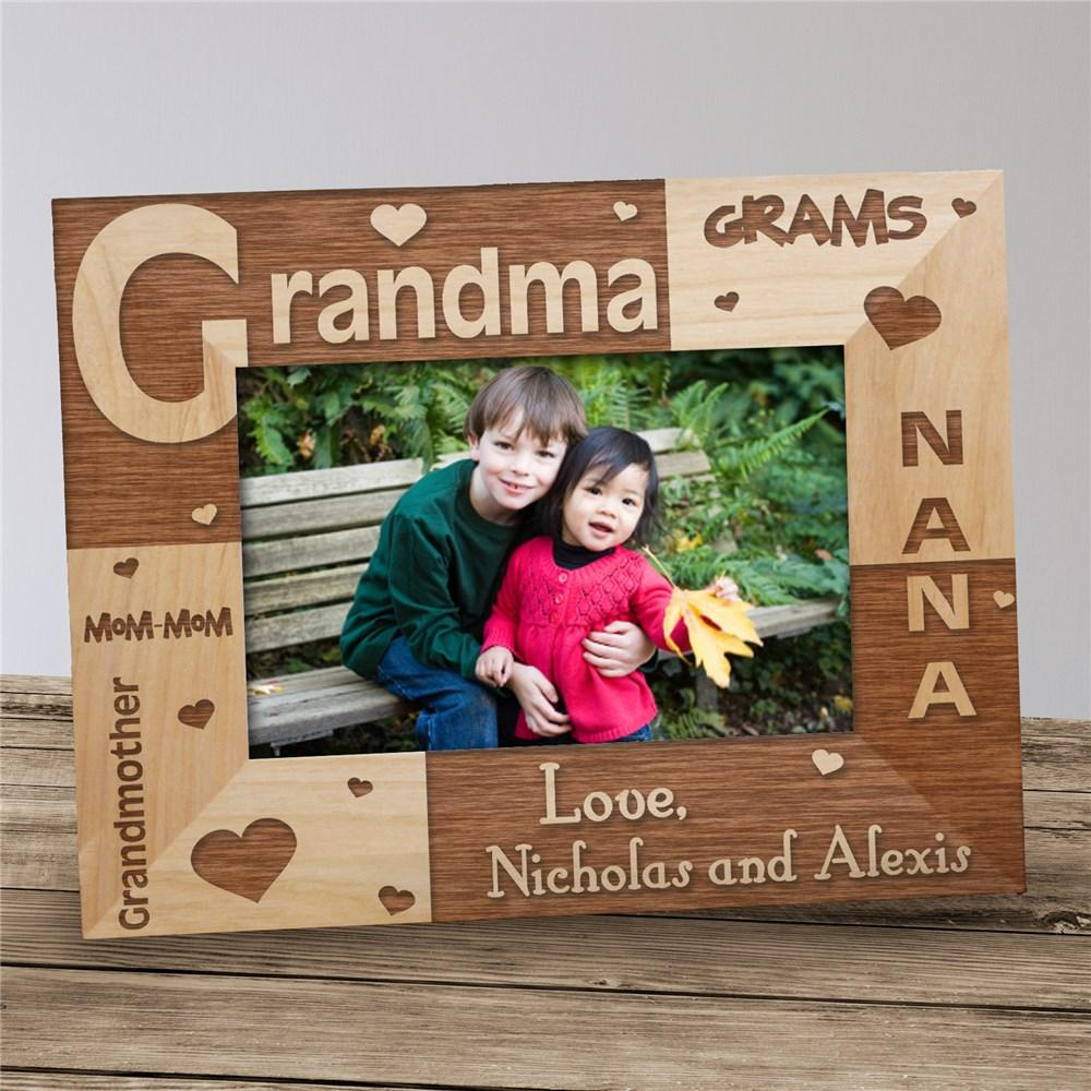 Personalized Grams Frame