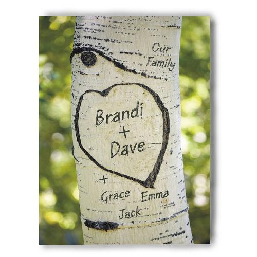 Personalized Our Family Tree Photo Wall Canvas