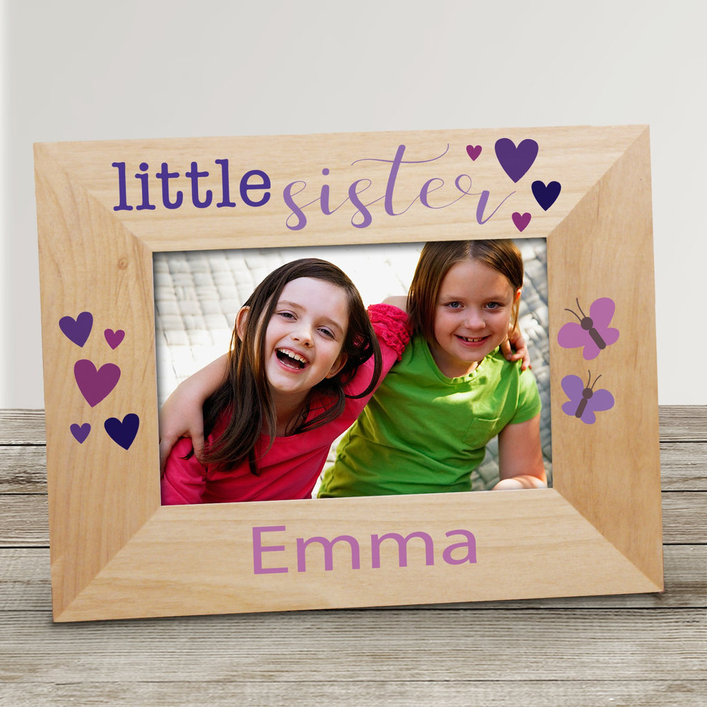 Personalized Big Sister Picture Frame