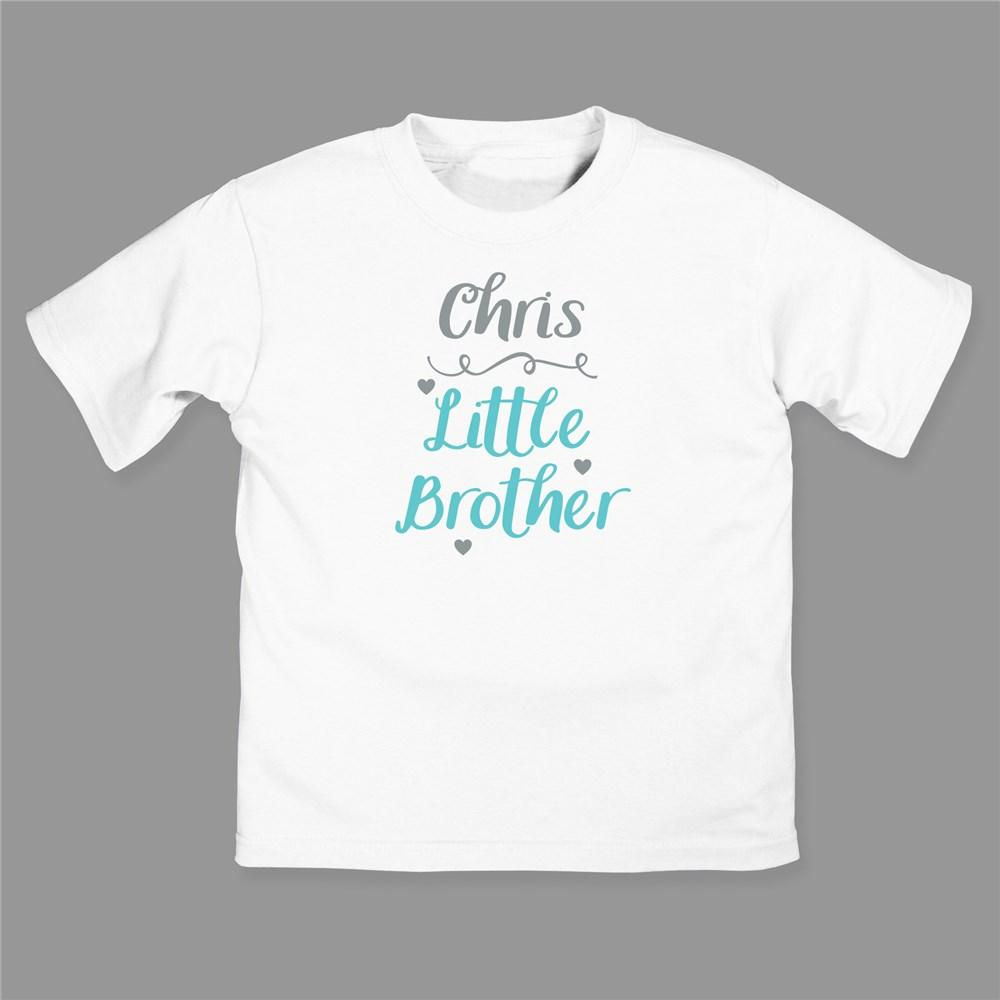 Personalized Little Brother/Little Sister Youth T-Shirt