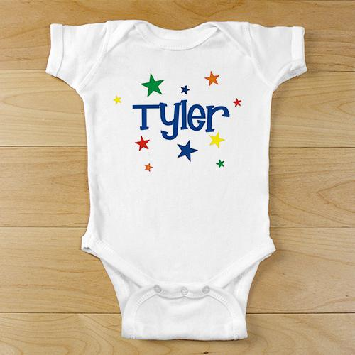 "Personalized New Baby ""A star Is Born"" Infant Bodysuit"