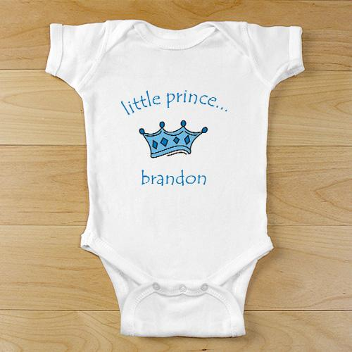 Personalized Little Prince Baby Bodysuit