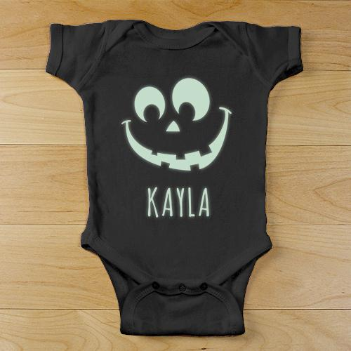 Personalized Glowing Baby Black Creeper