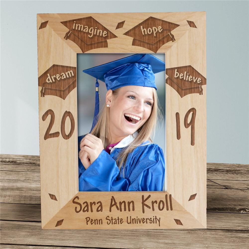 Personalized Dream Graduation Frame