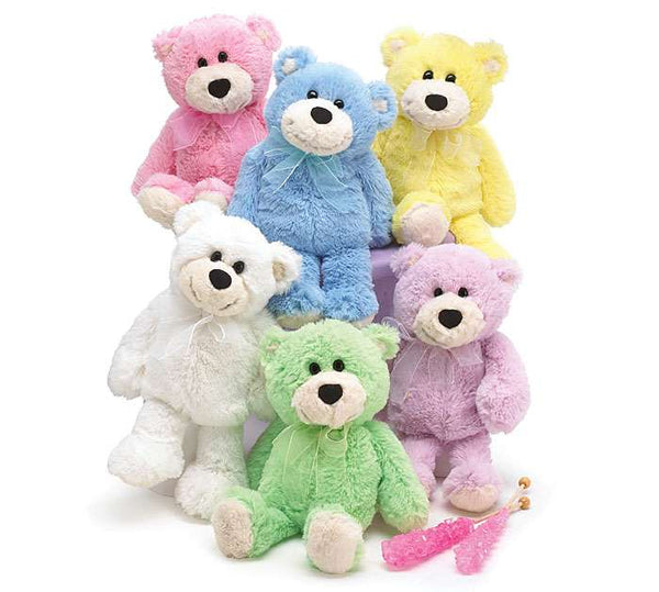 "10"" Plush Spring Colored Bears"
