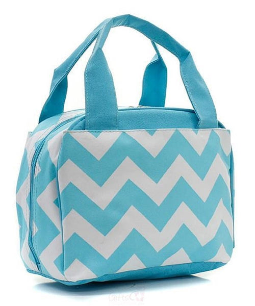 "Personalized Lunch Bag Cooler 9"" Insulated Tote - Gifts Happen Here - 93"