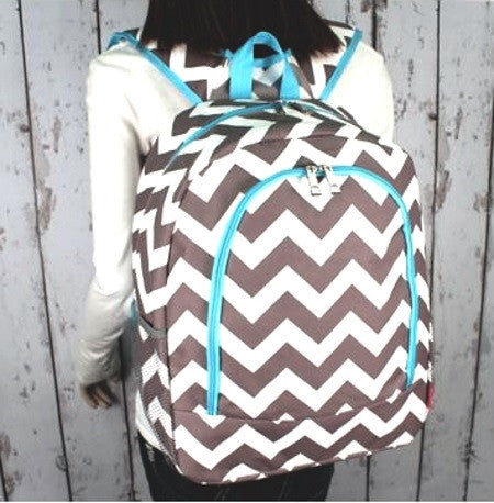 "Personalized 17"" Full Size Backpack Bookbag School Tote Bag - Gifts Happen Here - 98"