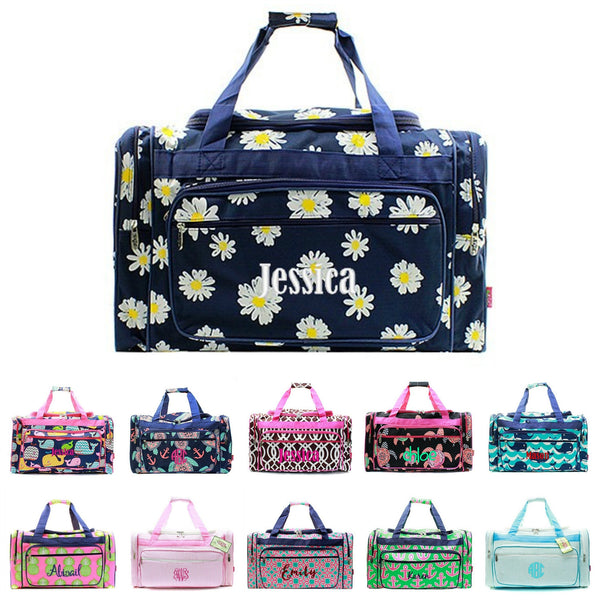 Top Personalized Duffle Bags, Monogrammed Travel Bag | GiftsHappenHere  XD82