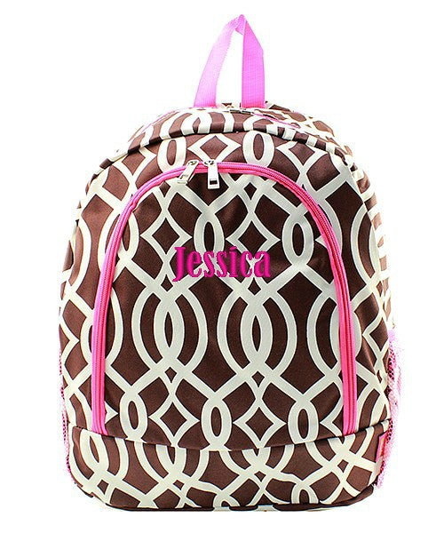"Personalized 17"" Full Size Backpack Bookbag School Tote Bag - Gifts Happen Here - 49"