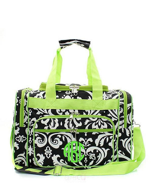 "Personalized 17"" Duffle Gym Bag Sports Carry On Travel Tote - Gifts Happen Here - 33"
