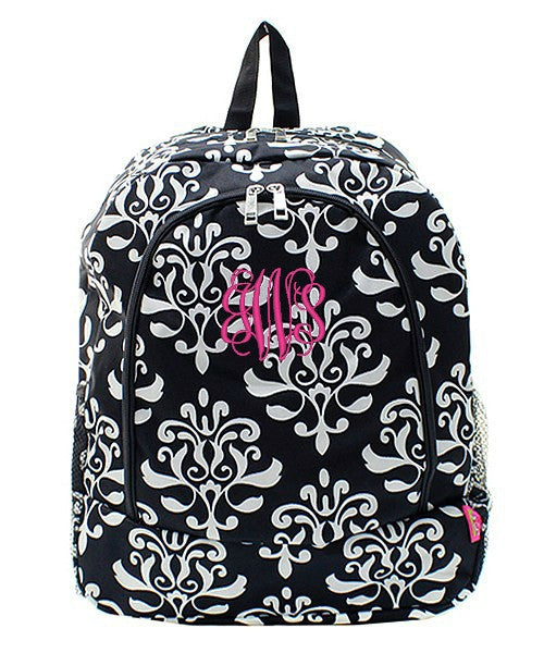 "Personalized 17"" Full Size Backpack Bookbag School Tote Bag - Gifts Happen Here - 35"