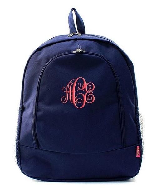 "Personalized 17"" Full Size Backpack Bookbag School Tote Bag - Gifts Happen Here - 87"