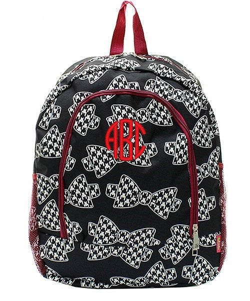 "Personalized 17"" Full Size Backpack Bookbag School Tote Bag - Gifts Happen Here - 46"