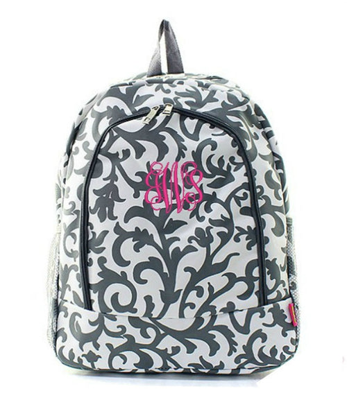 "Personalized 17"" Full Size Backpack Bookbag School Tote Bag - Gifts Happen Here - 39"