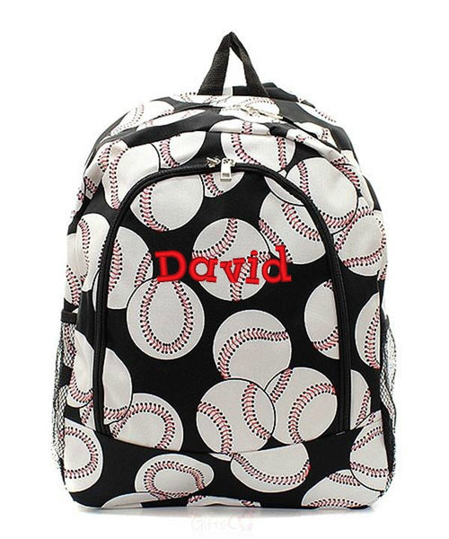 "Personalized 17"" Full Size Backpack Bookbag School Tote Bag - Gifts Happen Here - 8"