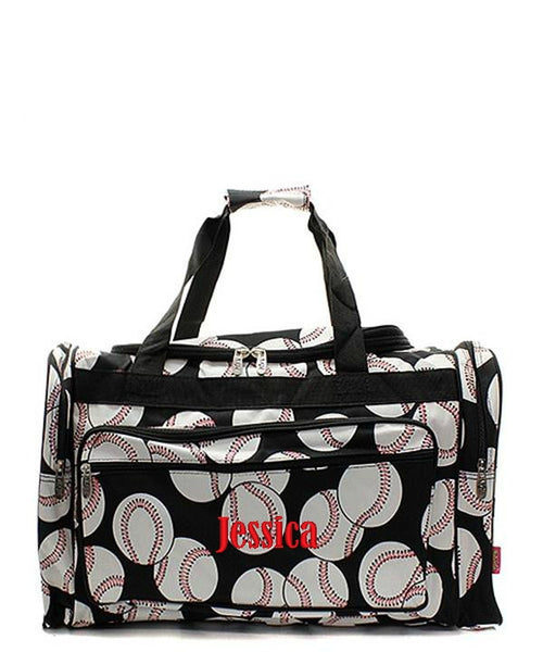 "Personalized 20"" Duffle Gym Bag Sports Carry On Travel Tote - Gifts Happen Here - 9"