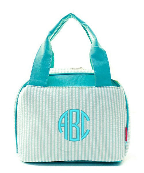 "Personalized Lunch Bag Cooler 9"" Insulated Tote - Gifts Happen Here - 74"