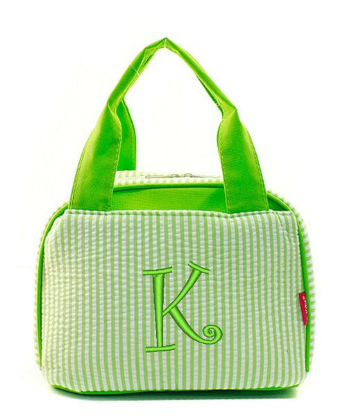 "Personalized Lunch Bag Cooler 9"" Insulated Tote - Gifts Happen Here - 75"
