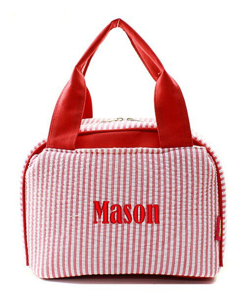 "Personalized Lunch Bag Cooler 9"" Insulated Tote - Gifts Happen Here - 78"