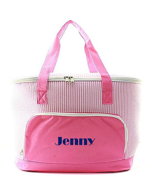 "Personalized 24"" Insulated Cooler Beach Tote Bag - Gifts Happen Here - 39"