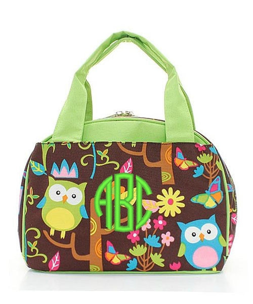 "Personalized Lunch Bag Cooler 9"" Insulated Tote - Gifts Happen Here - 13"