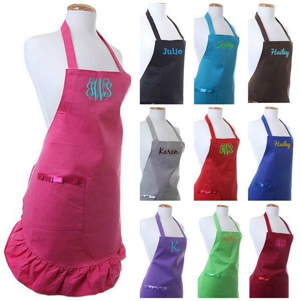 Personalized Womens Chef Cooking Apron - Gifts Happen Here - 1