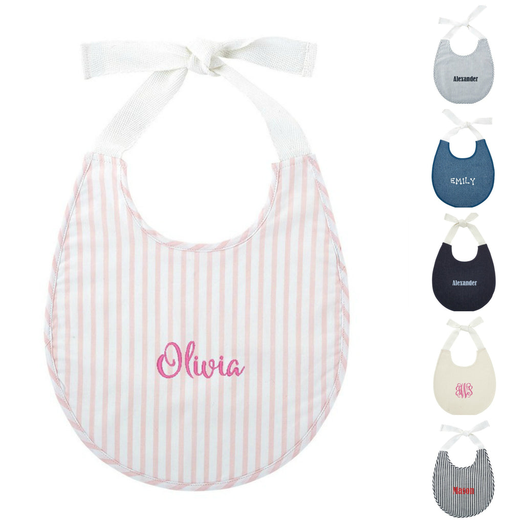 Personalized Heirloom Baby Bib