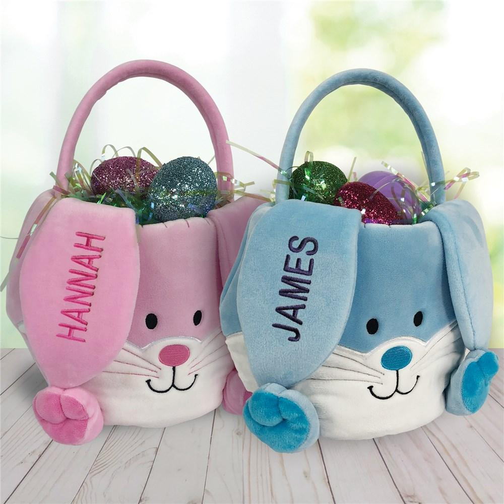 Personalized Easter Bunny Baskets