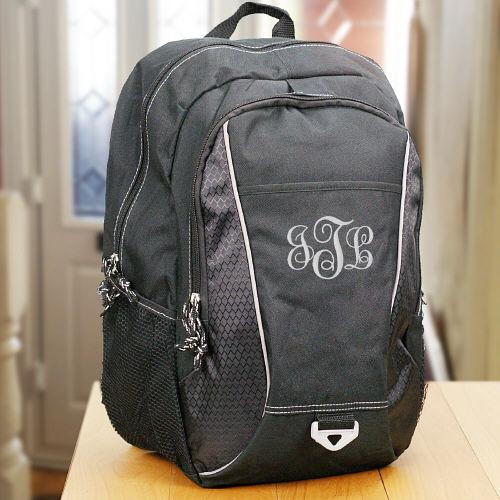 Personalized Monogram Computer Backpack