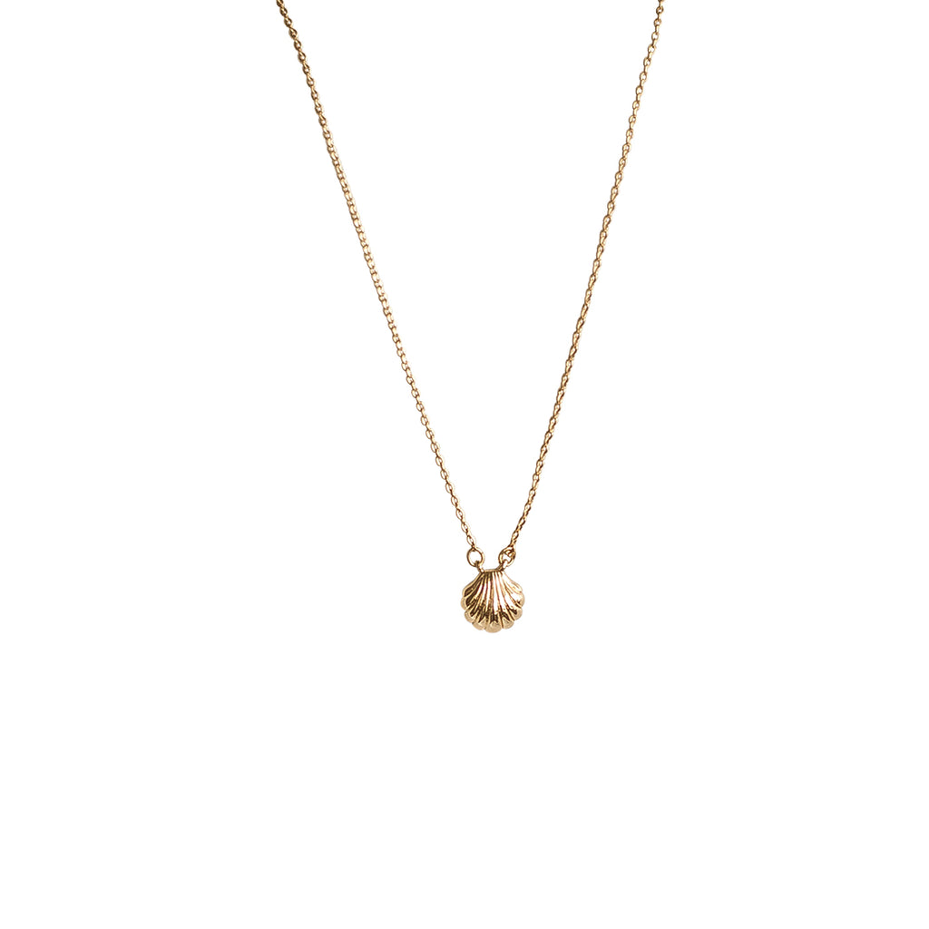 Seashell Necklace - Gold