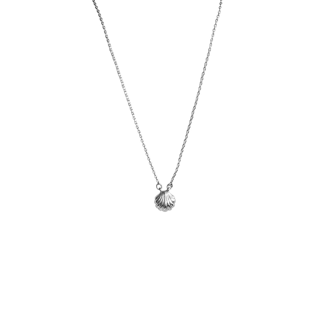 Seashell Necklace - Silver