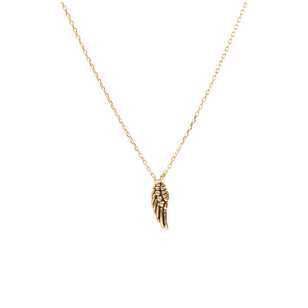 Angel Wing Necklace - Gold