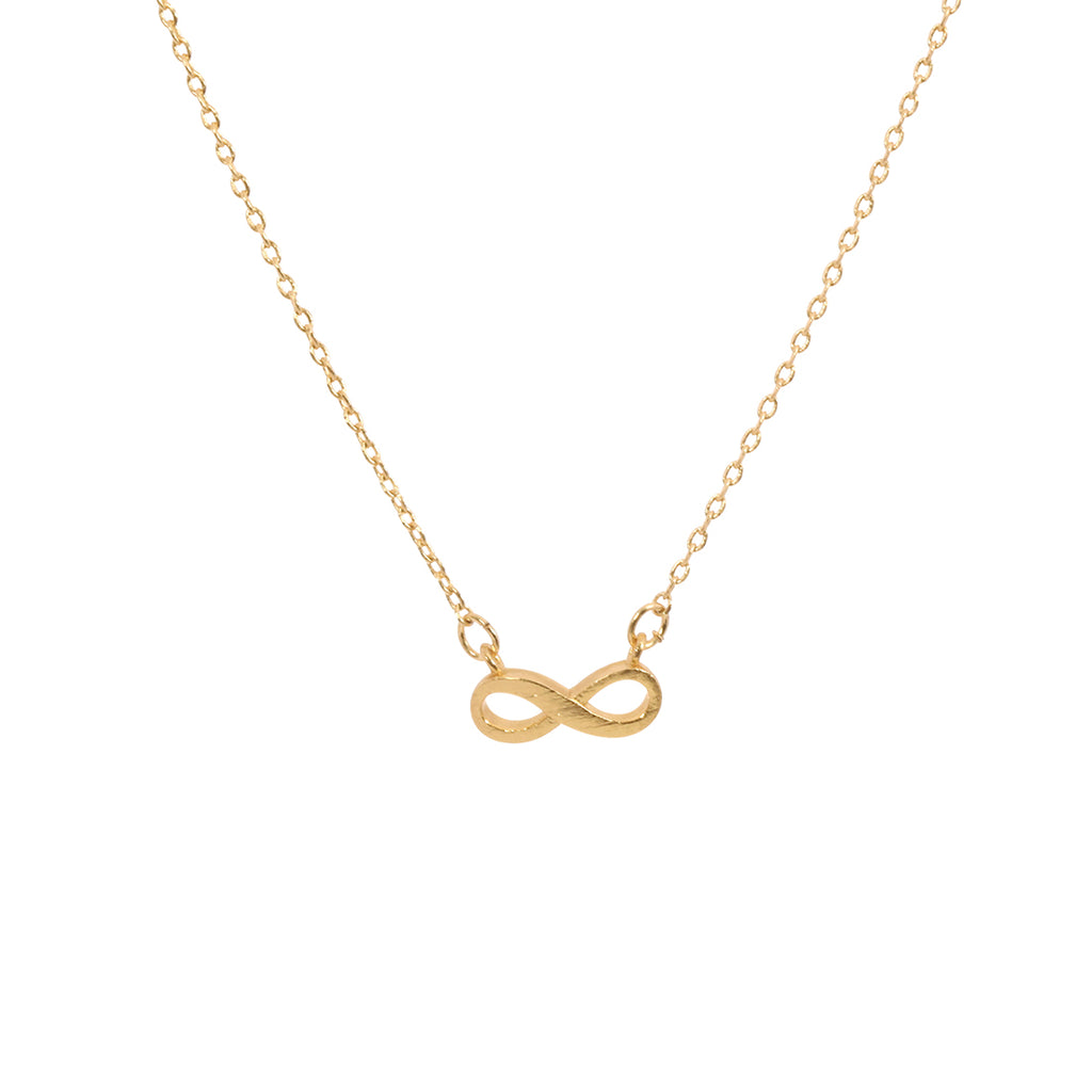 Infinity symbol Necklace - Gold