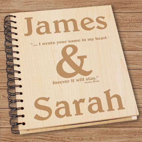 Personalized Forever It Will stay Photo Album
