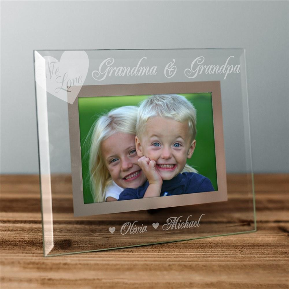 Personalized Engraved We Love Picture Frame