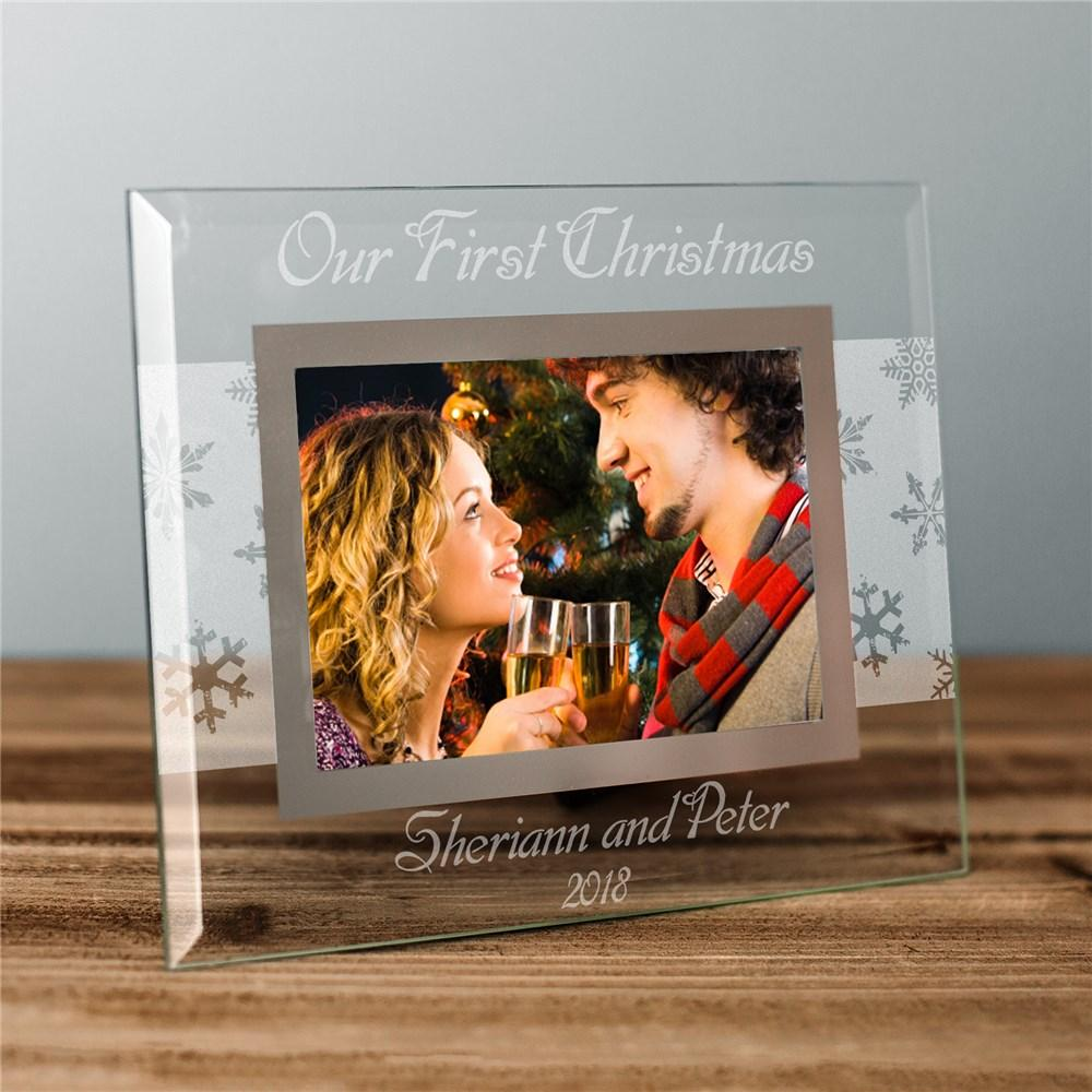 Personalized Custom Message Winter Frame